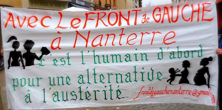 Le blog du Front de gauche à Nanterre
