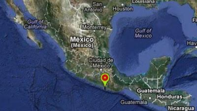 DOS SISMOS DE 5,9 Y 5,4 GRADOS SACUDEN MEXICO