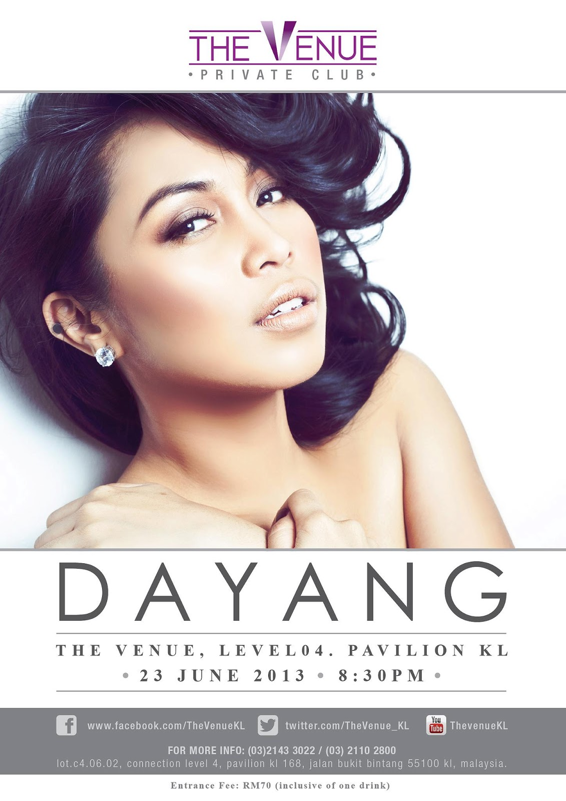 Dayang Nurfaizah The Venue 2013