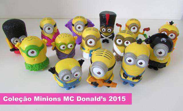 Vídeo, Resenha, Coleção, Minions, Mc Donald's, 2015
