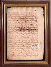 Aksara Jawa Tulis Tangan Akhir Abad XIX