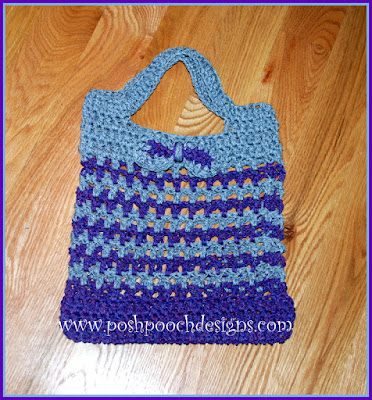 Free Crochet Pattern For Laundry Bag : Posh Pooch Designs Dog Clothes: Cordial Shopping Bag Free ...