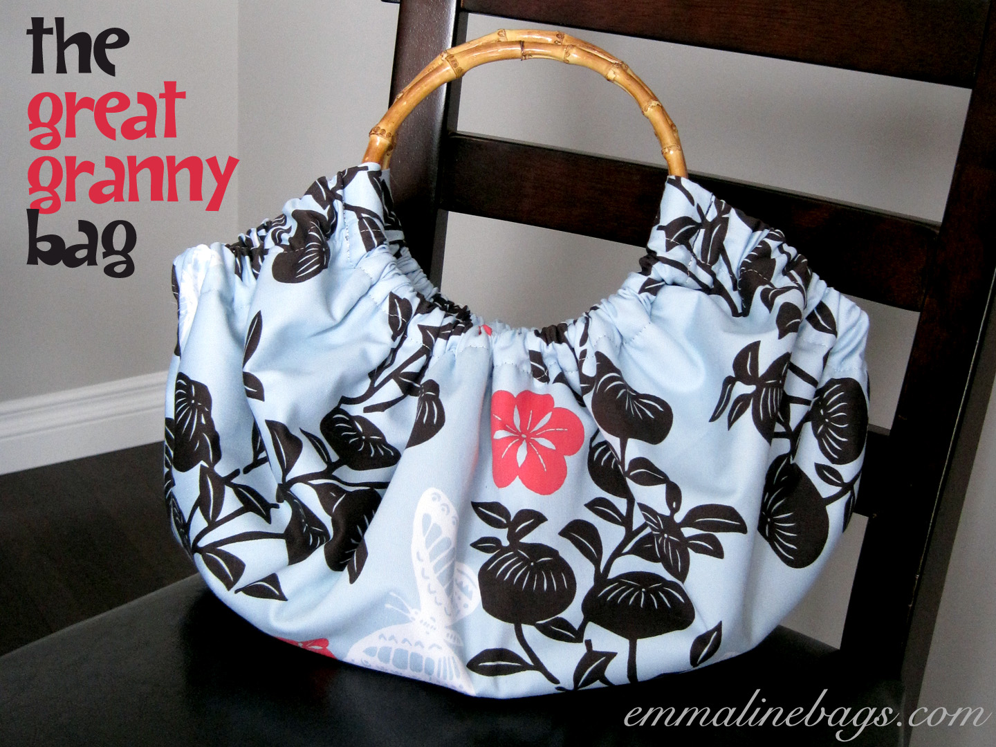 Bags And Purses Patterns : ... Patterns and Purse Supplies: Free Purse Tutorial: The Great Granny Bag