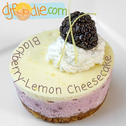 SPLENDID LOW-CARBING BY JENNIFER ELOFF: Blackberry Lemon Cheesecake