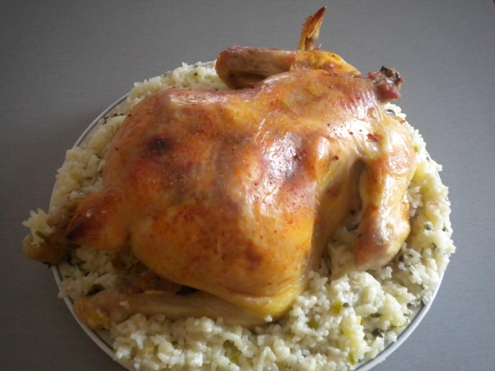 Курица фаршированная луком в духовке рецепт