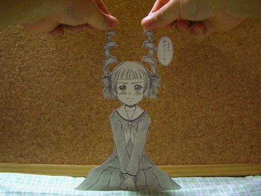Figuras Anime en papel. 248402_10150262340434819_213182229818_7273991_2971427_n