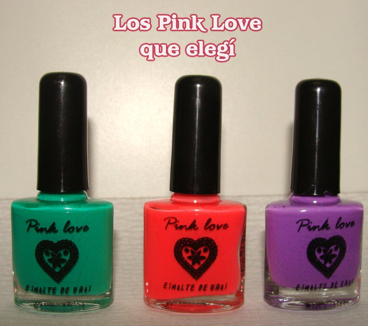 Esmaltes de Julie: Promo Pink Love !! yo la aproveché