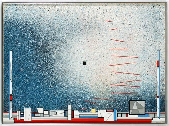 Pintores famosos mexicanos: Gunther Gerzso. Sus  pinturas de arte abstracto más famosas.