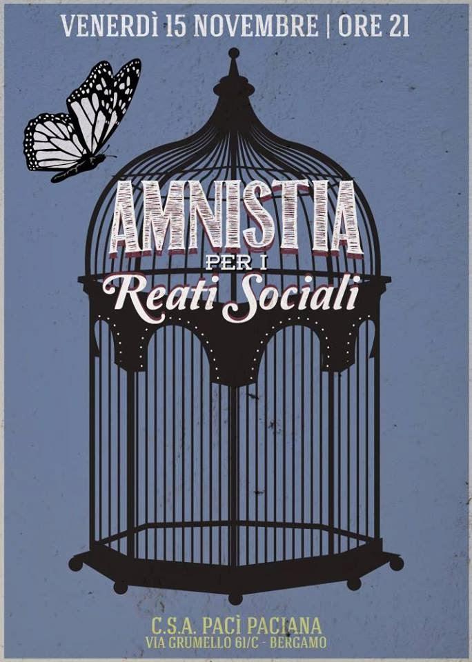 Dibattito Amnistia per i reati sociali