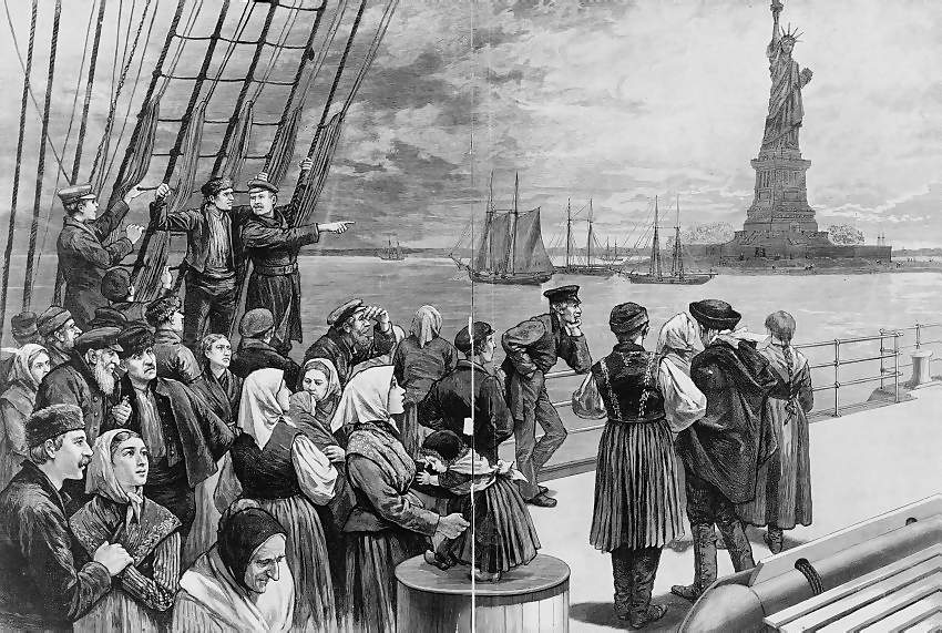 american immigration history The naturalization act of 1790 established the first rules for acquiring citizenship  in the united states of america the act created a uniform rule of naturalization.