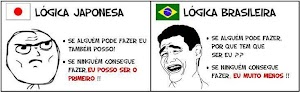 Logica Brasileira e Logica Japonesa