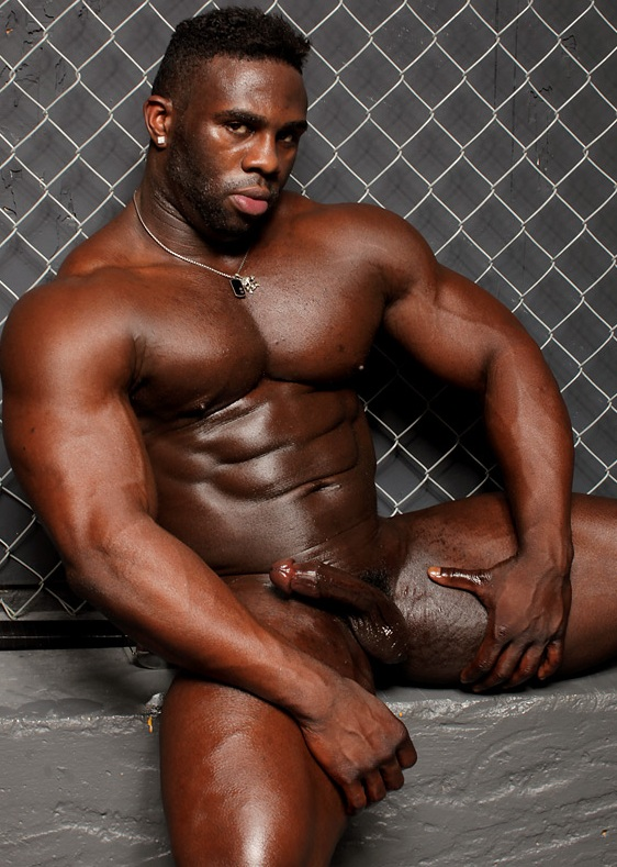 Congratulate, black muscle men with big cocks