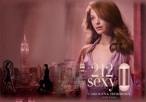Presente Dia das Mães - Perfume 212 Sexy Carolina Herrera