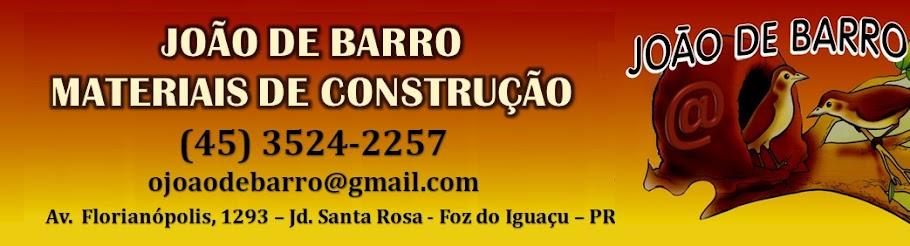 João de Barro Materiais de Construção - Foz do Iguaçu - Paraná - Brasil