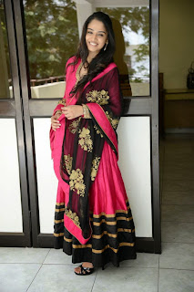 Actress Nikitha Anil Latest Picture Gallery in Pink Salwar Kameez  5