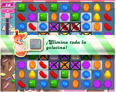 Objetivos en Candy Crush