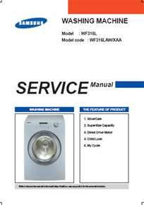 Samsung washing machine error codes