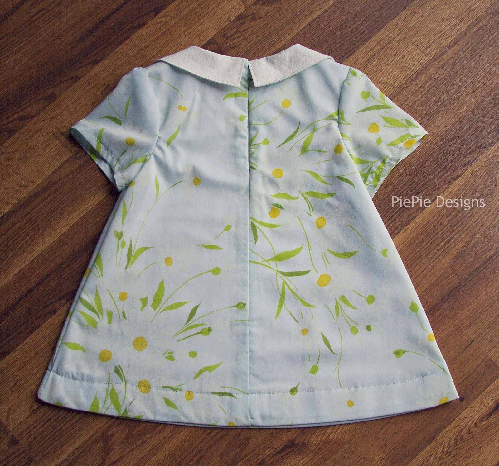 PiePie Designs DIY Girl s Dress The Norah