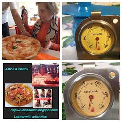 Pizza Margherita ( forno a legna )photos  mia madre 2016