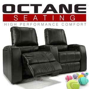octane storm row of 2 seats