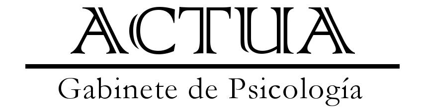 ACTUA Psicología