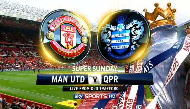 Manchester United vs QPR - 24 November, 2012