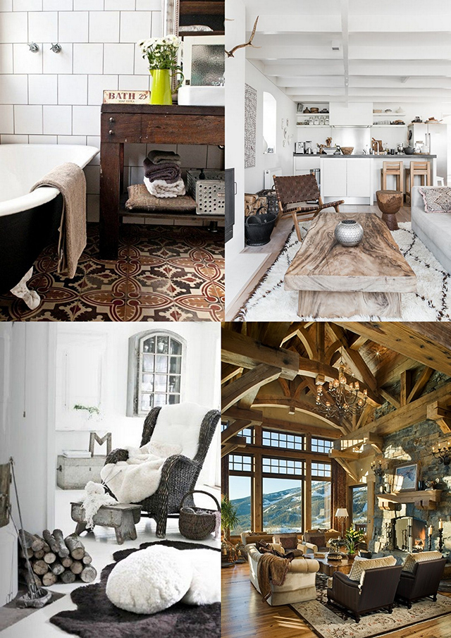Rustic House decoration