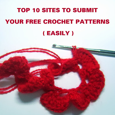Top 10 Free Crochet Pattern Websites : My top 10 favourite sites to submit free crochet patterns ...