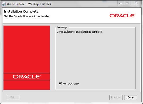 Weblogic10.3.6_Installation_Complete