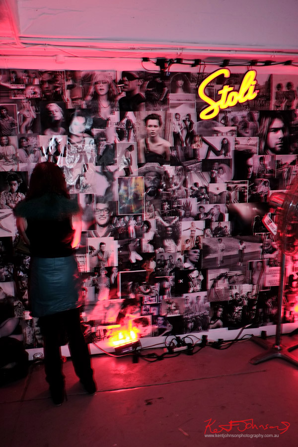Stoli wall of fame! ORGNL.TV - Stolichnaya Vodka, Sydney Launch Party