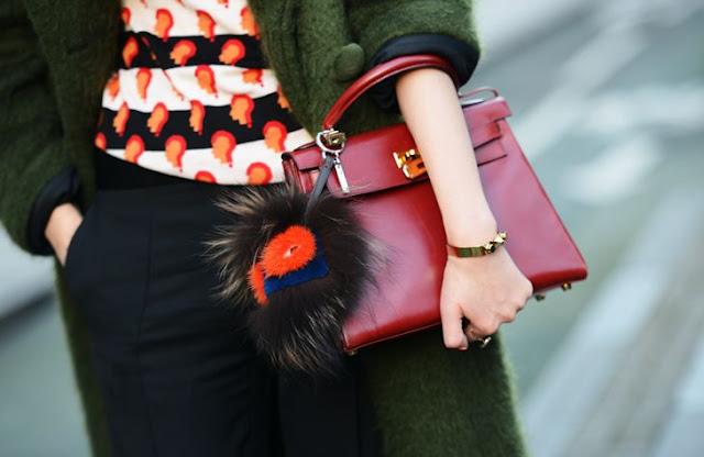Charm Bag, FurryBag ou Pompom de bolsa