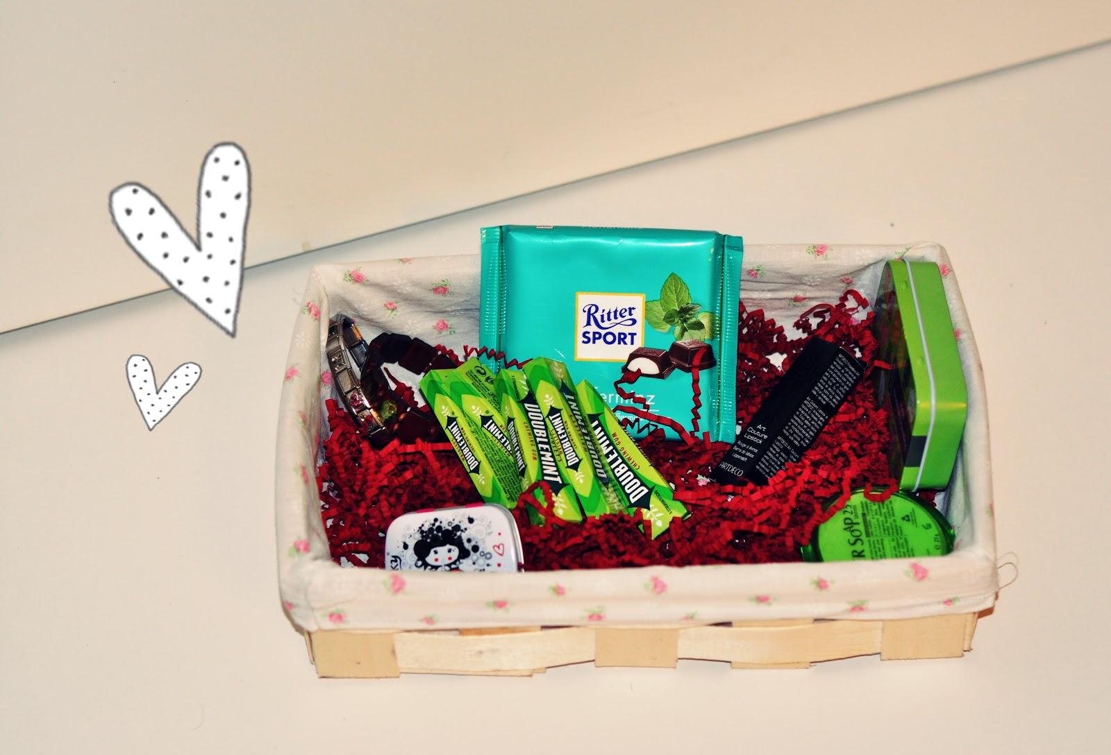 DIY Obstkorb mit Rosenbezug