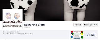image Kawartha cloth online diaper business Facebook banner