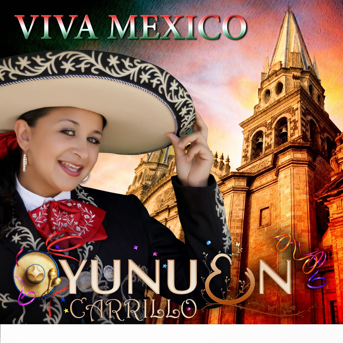 "Yunuen Carrillo's CD ""Viva México"""