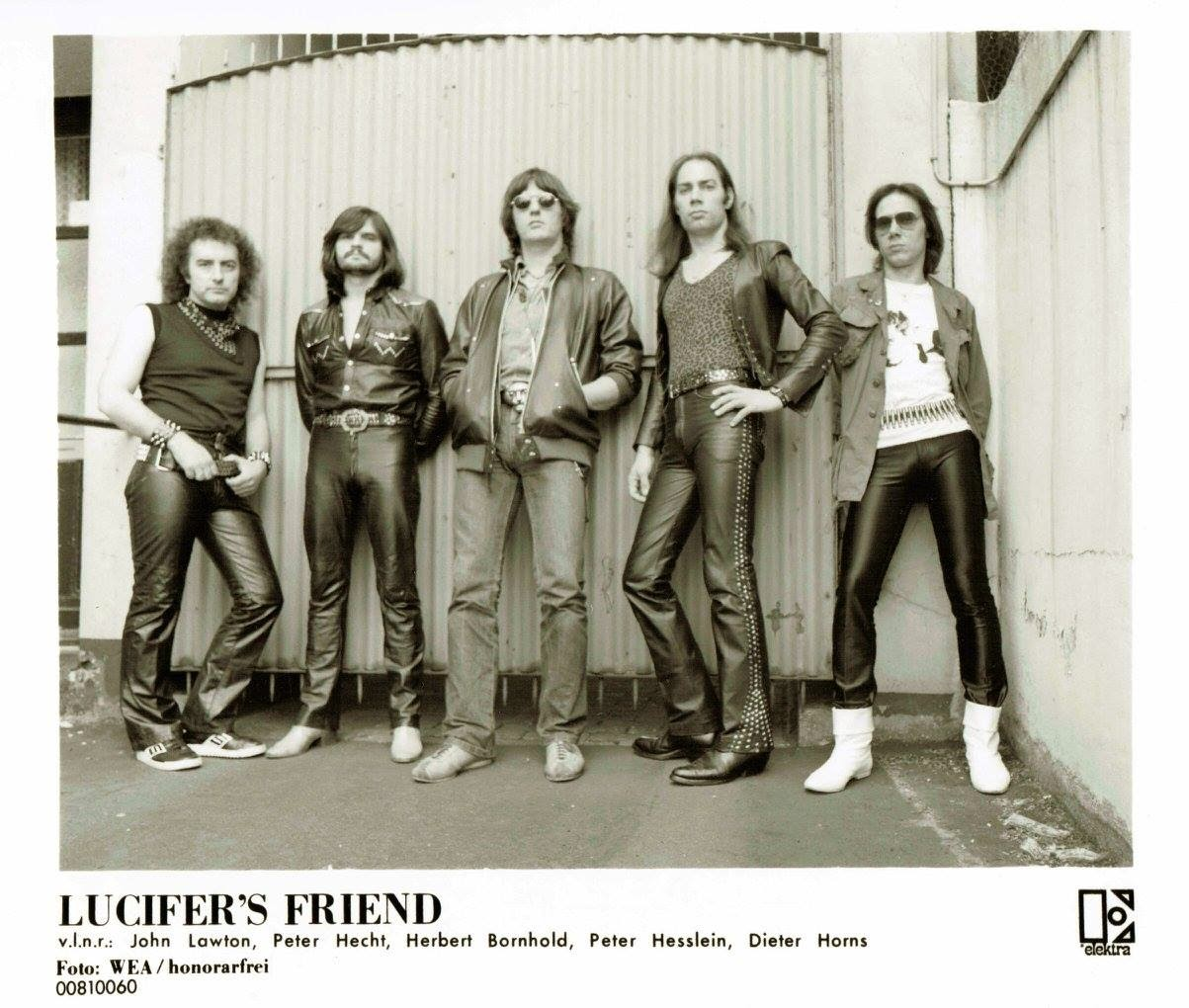 Rock Legends LUCIFER'S FRIEND Reform For 2015