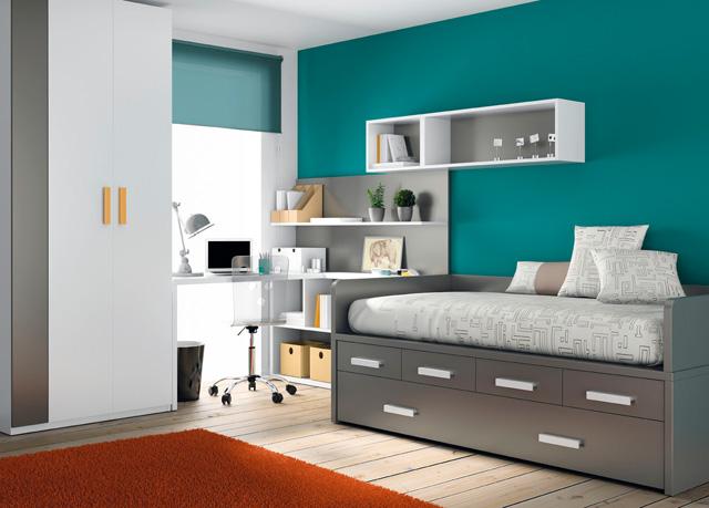 Muebles ros kids up 2 for Camas altas juveniles