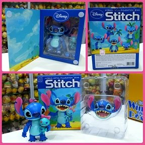 2017 Disney Hybrid Metal Figuration Stitch & Scrump Figure