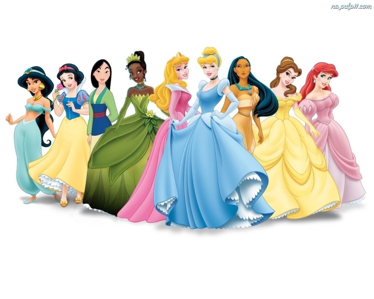 Makijaż inspirowany księżniczkami Disney'a.