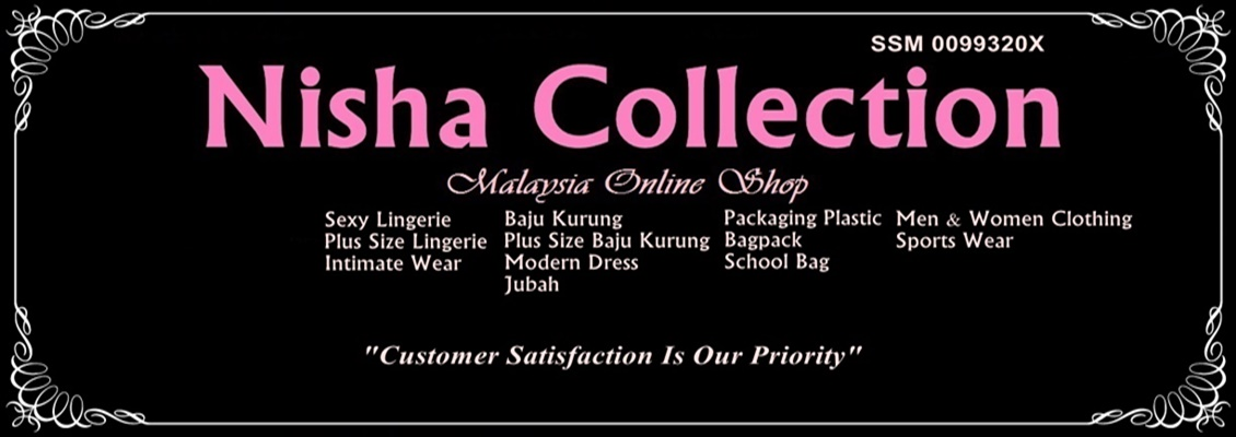 Nisha Collection-Malaysia's Sexy Lingerie & Plus Size Lingerie Shop