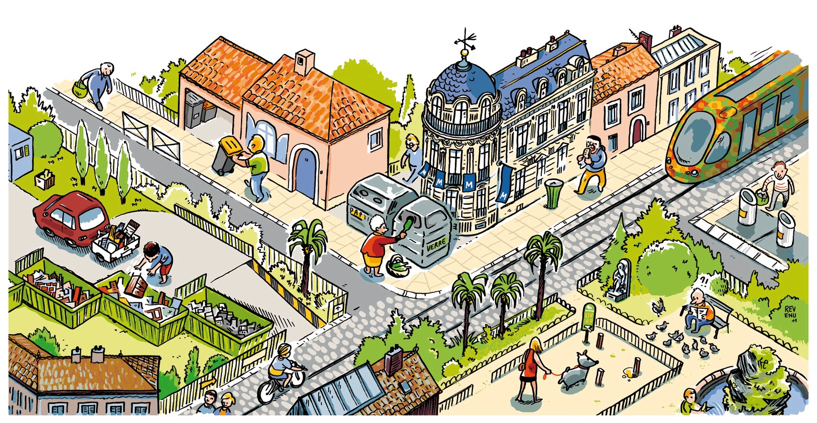 carnet de bord        le blog de julien revenu  propret u00e9 en ville