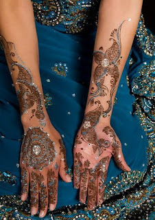 mehendi desings of hand