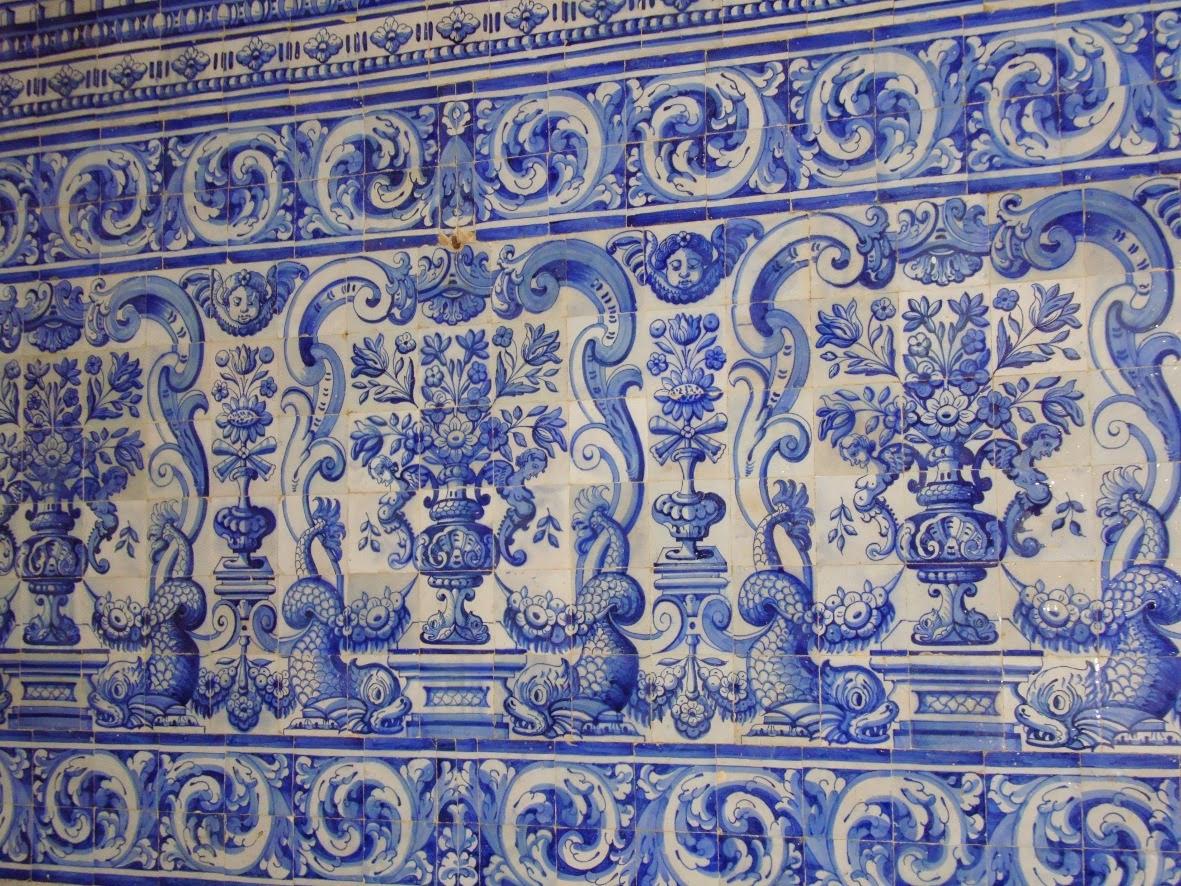 A hist ria do azulejo portugu s comunidade cultura e arte - Pintura de azulejos ...