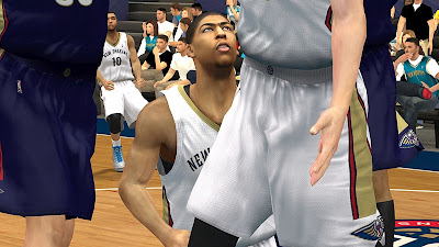 NBA 2K13 Pelicans Jerseys - Anthony Davis