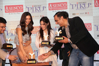 Actress Deepika Padukone Pictures in Jeans at Piku Promotion at Senco Gold and Diamonds Jewellery Store  46