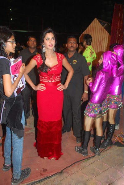 katrina kaif promoting tees maar khan