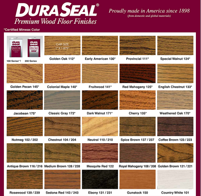 ... professional flooring company that works with Duraseal Floor Stains