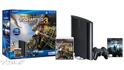 Novo PlayStation 3 ganha design mais compacto,games lançamento
