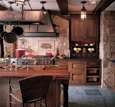 Design   Kitchen Cabinets on Home Ideas Galleries  Rustic Kitchen Design Ideas