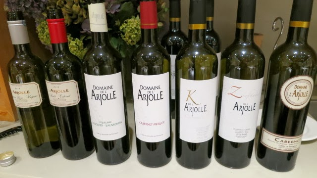 Domaine de l'Arjolle Wine Lineup