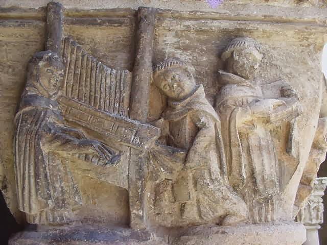 Musica y tradiciones instrumentos medievales monjes for L organo portativo